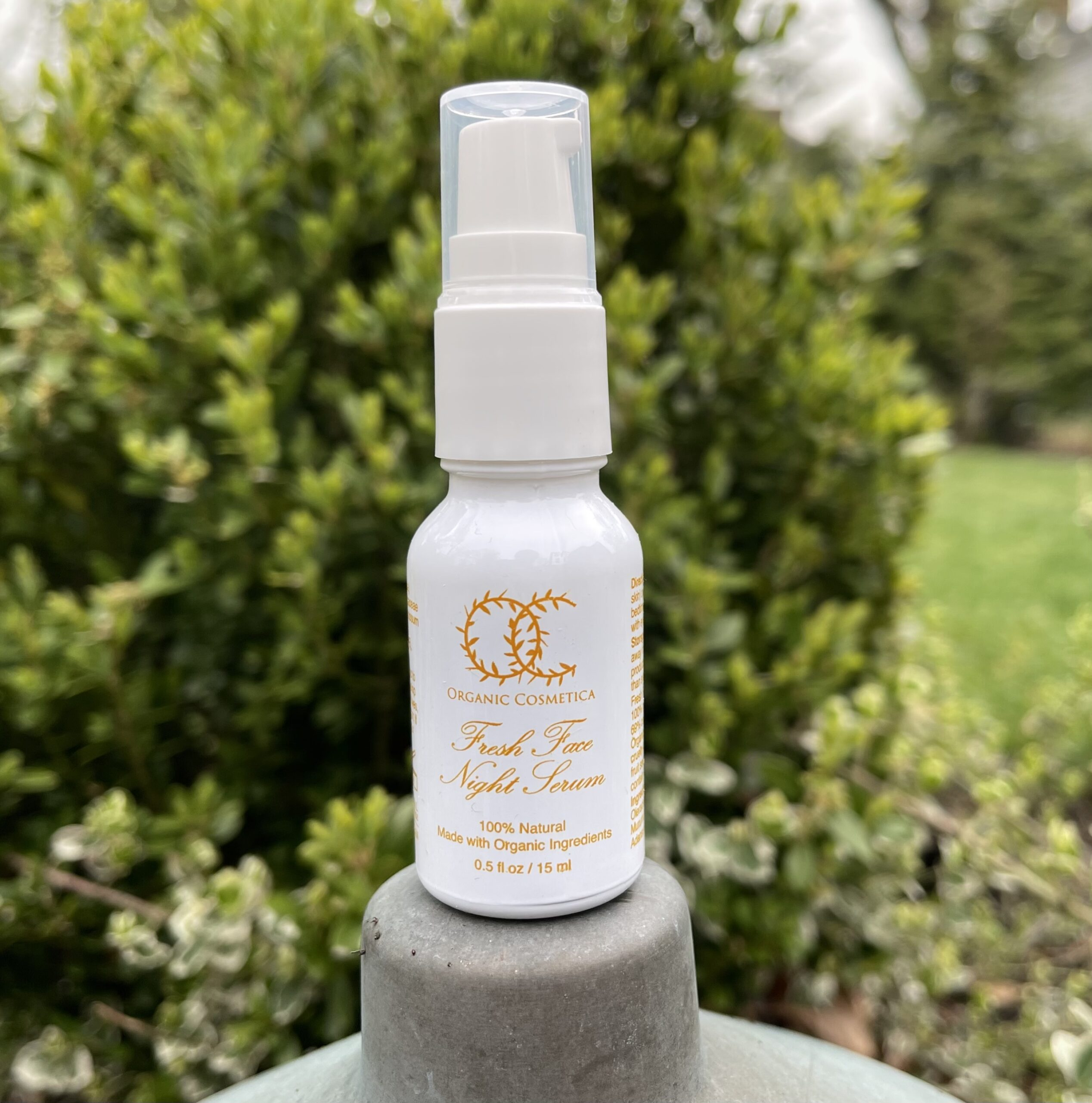 fresh face spray bottle -organic skin care