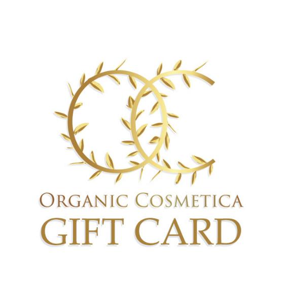 Organic Cosmetica Gift card logo