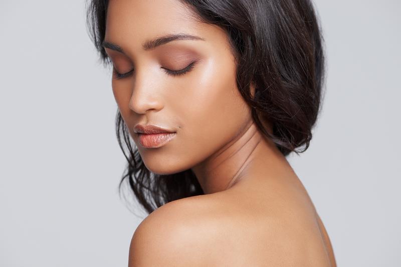 beautiful woman - clean cosmetics