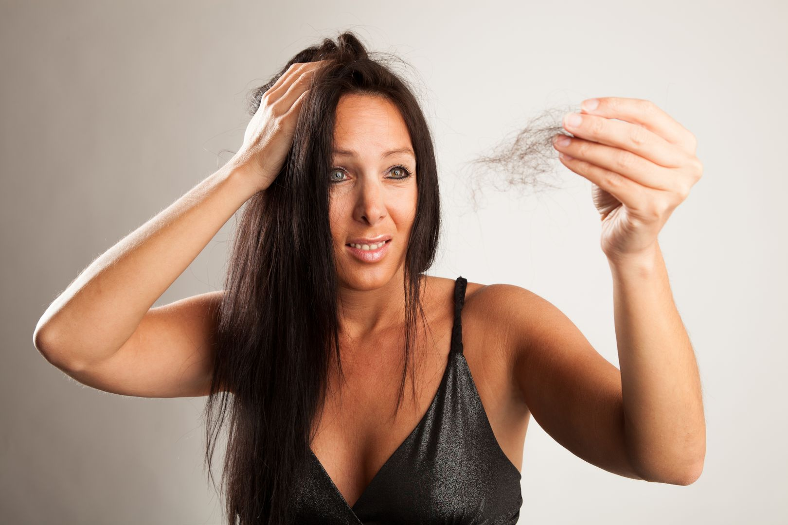 hair loss woman - prevent hair loss
